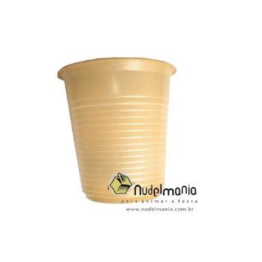 Copo-Forfest---200-ml---plastico-descartavel---Dourado---pacote-50-unidades