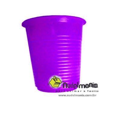 Copo-Forfest---200-ml---plastico-descartavel---Roxo---pacote-50-unidades