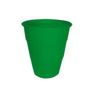 Copo-Happy-Line-210-ml---Verde---10-unidades