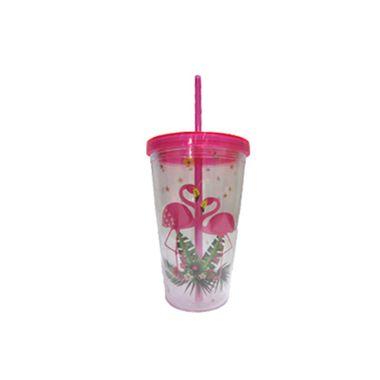Copo-Tropical-450ml---com-canudo---cor-Pink---unidade
