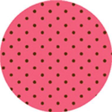Folha-E-V-A--Poa---borracha---60-x-40-cm---Rosa-Bebe-com-Marrom---pacote-05-unidades