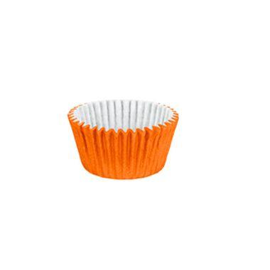 Forminha-Cupcake-Impermeavel---Laranja---pacote-45-unidades