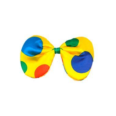 Gravata-Borboleta-Palhaco---Gigante---Cores-e-Estampas-Sortidas---unidade