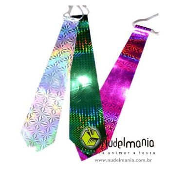 Gravata-Holografica-Psicodelica---cores-sortidas---pacote-12-unidades