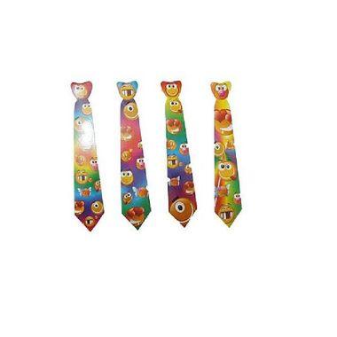 Gravata-Smille---estampas-sortidas---cartonagem---pacote-12-unidades