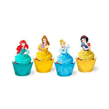 Cupcake-Wrapper-Princesas-Amigas---Saia-Cupcake---pacote-12-unidades