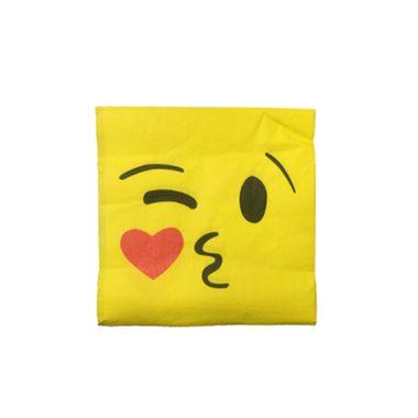 Guardanapo-Emoji-Kissing-33-x-33-cm-Importado---20-unidades
