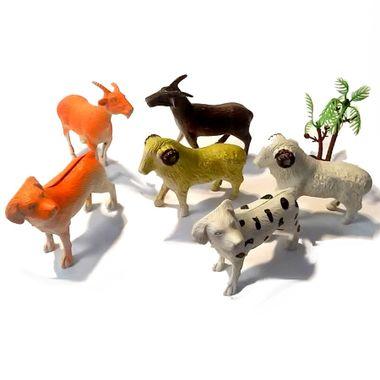 Animais-Series---mini-brinquedo---plastico---06-unidades