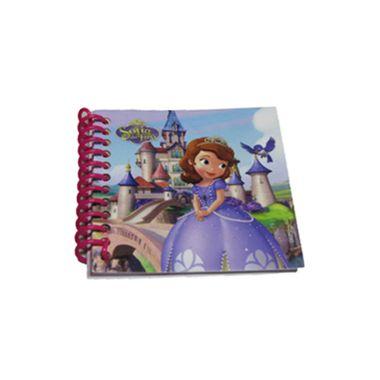 Bloco-de-Anotacoes---Princesinha-Sofia-com-adesivo---30-folhas---unidade