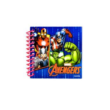 Bloco-de-Anotacoes---Vingadores---The-Avengers-com-adesivo---30-folhas---unidade