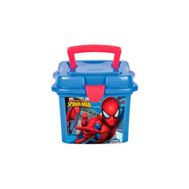 Box-Homem-Aranha---Quadrada---Mini-Maleta---plastico---unidade