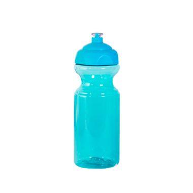 Garrafa-Azul-Lisa---tampa-Azul---Squeeze---plastica---575-ml---unidade