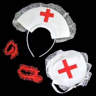 Acessorios-Enfermeira---tiara-bolsinha-e-elasticos---embalagem