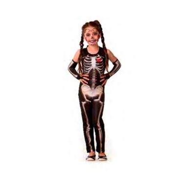 Fantasia-Halloween-Esqueleta-Class-s--Manga---infantil---tamanho-M---unidade