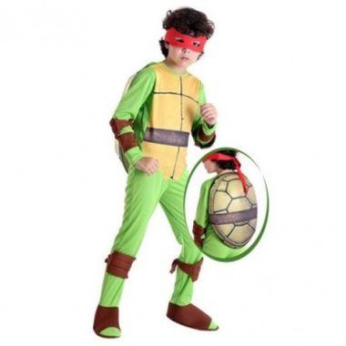 Fantasia-Tartarugas-Ninjas---Raphael---infantil---tamanho-P
