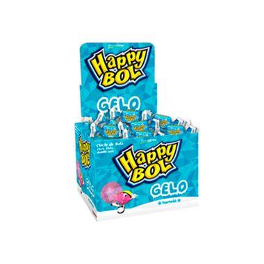 Chicle-Happy-Bol-Gelo---Sabor-Hortela---140-g---46-unidades