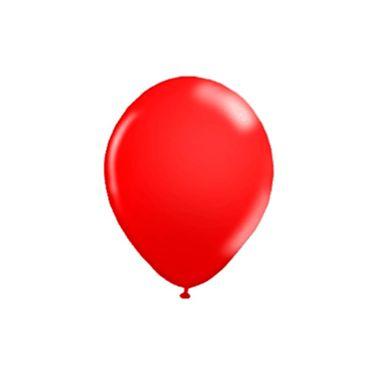 Balao-7-Buffet---latex---Vermelho---pacote-50-unidades