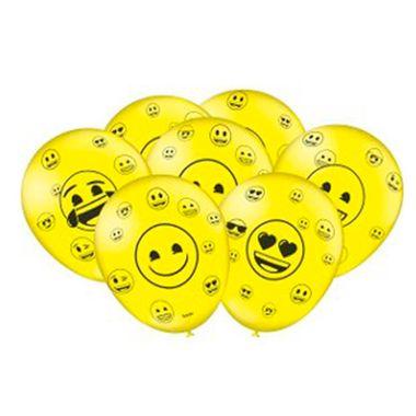 Balao-Emoji-9----Latex---para-Vareta---Pacote-25-unidades