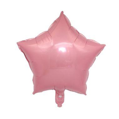 Balao-Estrela-20----Importado---metalizado---Rosa---unidade