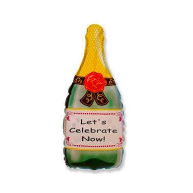 Balao-Garrafa-de-Champagne-HSG---Metalizado---unidade