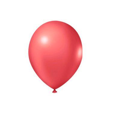Balao-Profissional-Metalizado-9---latex---Vermelho---pacote-50-unidades