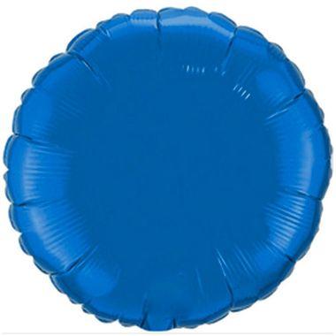 Balao-Redondo-20----Importado---metalizado---Azul---unidade