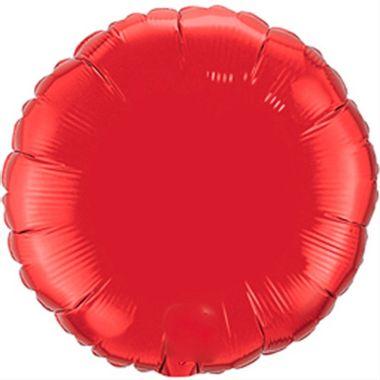 Balao-Redondo-20----Importado---metalizado---Vermelho---unidade
