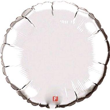 Balao-Redondo-20----metalizado---Prata---unidade