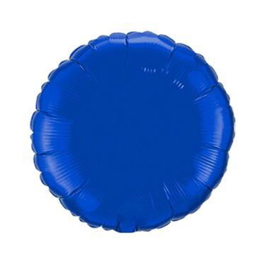 Balao-Redondo-9----metalizado---Azul---unidade