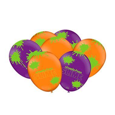 Balao-Slime---Latex---preto-e-laranja---25-unidades