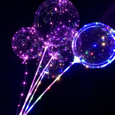 Kit-Balao-Bubble-Led---Balao-vareta-e-base-led---cores-sortidas---unidade