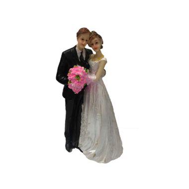 Enfeite-de-Bolo-Casamento---Noivos---Resina---Modelos-Sortidos---unidade