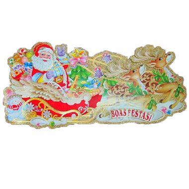 Enfeite-Decorativo-Natalino-3D---cartonagem-e-glitter---modelos-sortidos---unidade