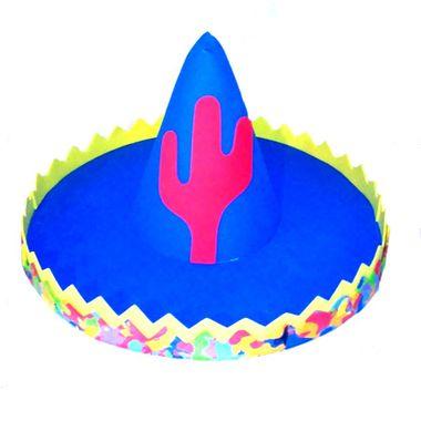 Enfeite-Mexicano-Sombrero---Centro-de-Mesa---43-cm---e-v-a----cores-sortidas---unidade