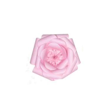 Flor-de-Papel-Camelia-P---Rosa-Claro---unidade