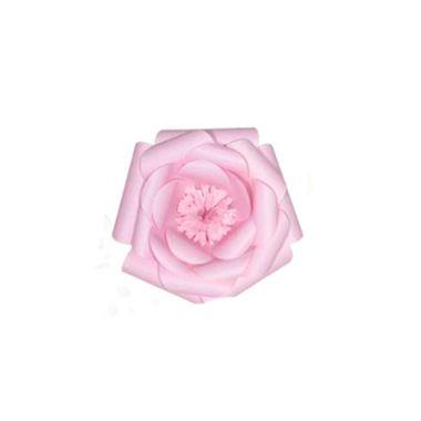 Flor-de-Papel-Camelia-PP---Rosa-Claro---unidade