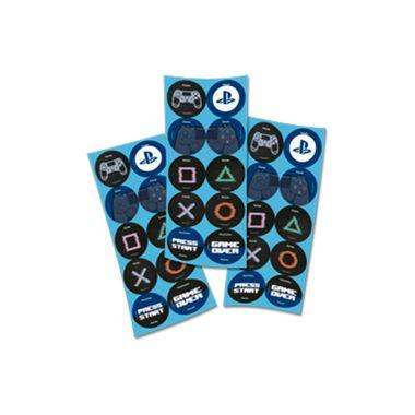 Adesivo-Decorativo-Playstation---3-cartelas-com-10-adesivos-cada