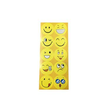 Adesivo-Redondo-Grande-Emojis---3-cartelas-com-10-adesivos