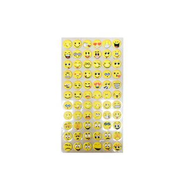 Adesivo-Redondo-Pequeno-Emojis---cartelas-com-66-adesivos