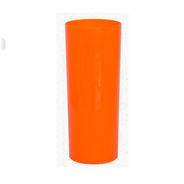 Copo-Long-Drink-320-ml---Acrilico---Cores-Sortidas---6-unidades-Laranja