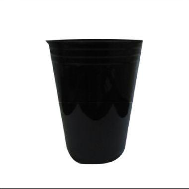 Copo-Balada---plastico-descartavel---Preto-Neon---300-ml---pacote-25-unidades