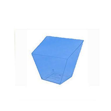 Copo-Italiano-40-ml---Azul-Neon---embalagem-10-unidades