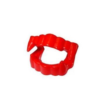 Dentadura-Vampiro---plastico---Vermelha---unidade