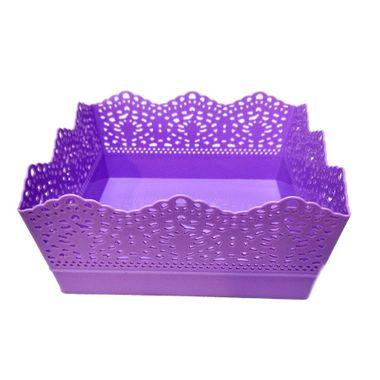Cesta-Plastica---quadrada---cores-sortidas---unidade-Lilas