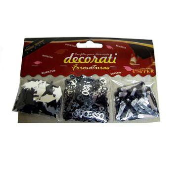 Confete-Decorativo-Formatura---3-modelos-sortidos---cor-PRATA-e-PRETO---aprox--18-gr