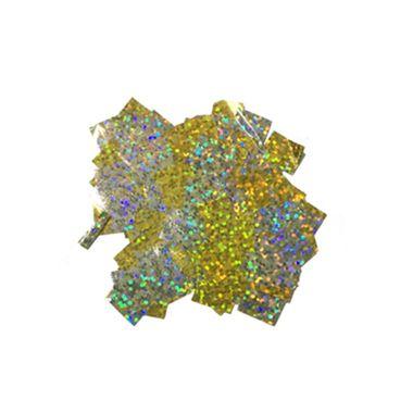 Confete-Decorativo-Metalizado-Holografico-5g---amarelo---unidade
