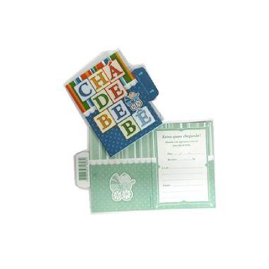 Convite-Cha-de-Bebe---Toys-Menino---10-unidades