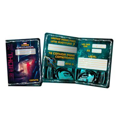 Convite-Thor-Ragnarok---embalagem-08-unidades