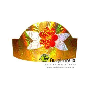Coroa-Holografica-Magestic---cartonagem---pacote-06-unidades