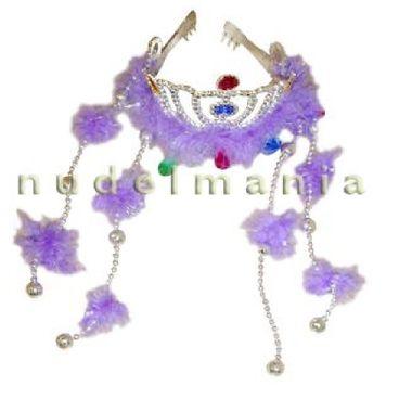 Coroa-Princesa-Pingentes-Adornos-Plumas---unidade